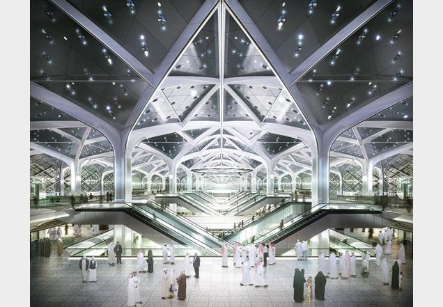 High-speed railway station at Jeddah, Saudi Arabia